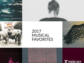 2017 Musical Favorites