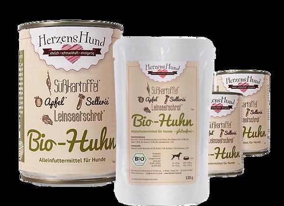 Herzenshund Bio-Huhn Nassfutter