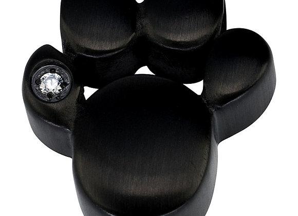 Magnet Kettenanhänger Pfote mit Zirkonia