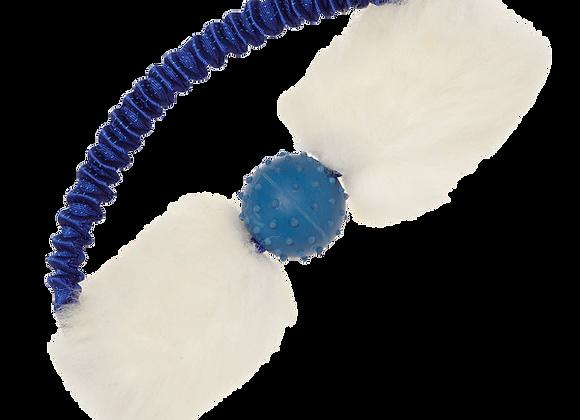 Bungee Tug Ring mit Ball aus Schaffell