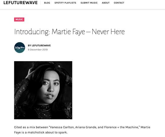 LeFutureWave Martie Faye