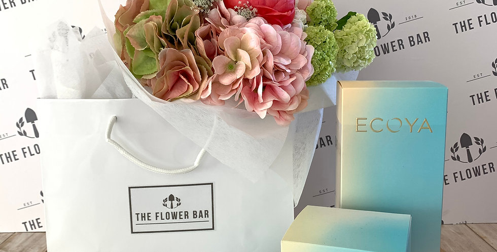 ECOYA COLLECTION & BOUQUET IN BAG