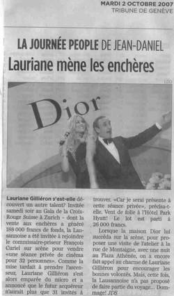 Press Tribune de Geneve