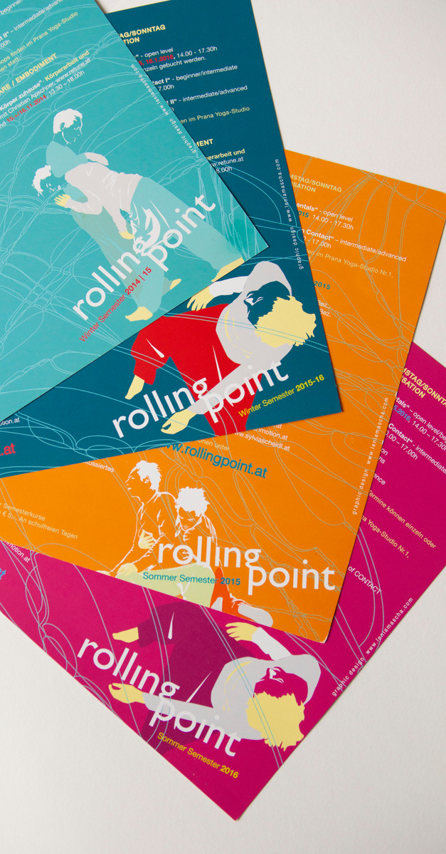 graphic design for rollingpoint