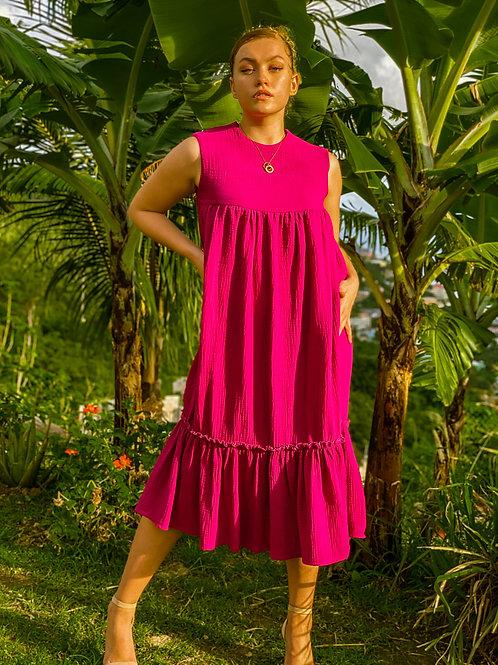 """Sangria """"Dahlia"""" Dress"""