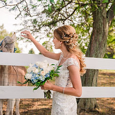 Romantic Bridal Hair Style
