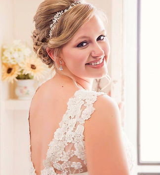 Classic Romantic Bridal Look