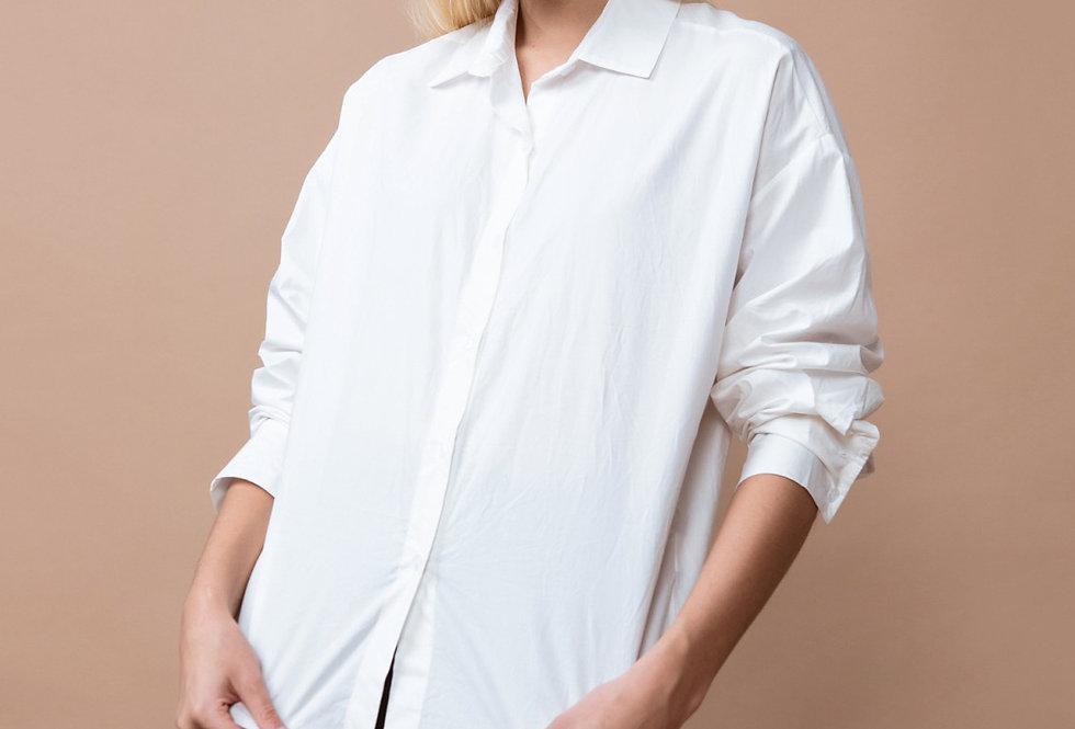 Camisa 22115 popelín abotonada