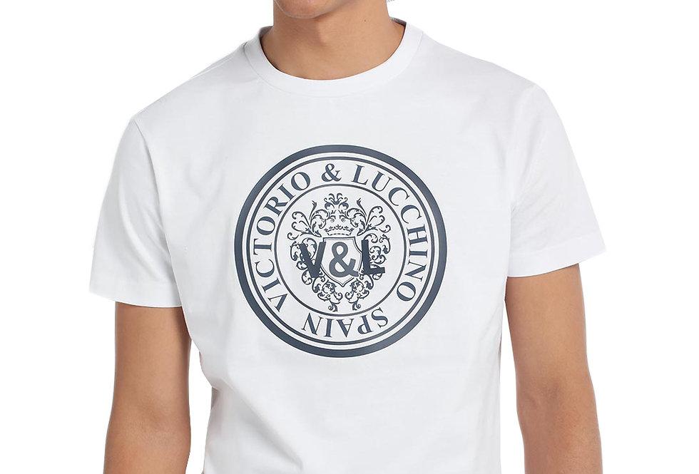 Camiseta logo circular Victorio & Lucchino