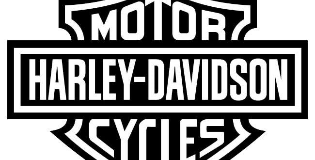 Copia de Vinilo logo Harley Davidson