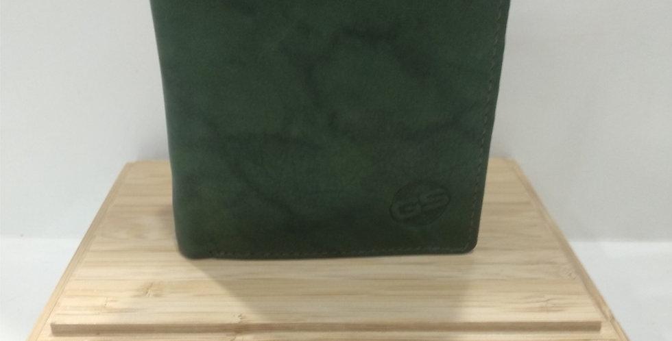 Cartera GS 213046 billetera de piel caqui.