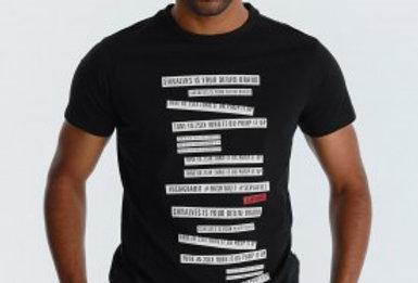 Camiseta 5001 Six Valves negra