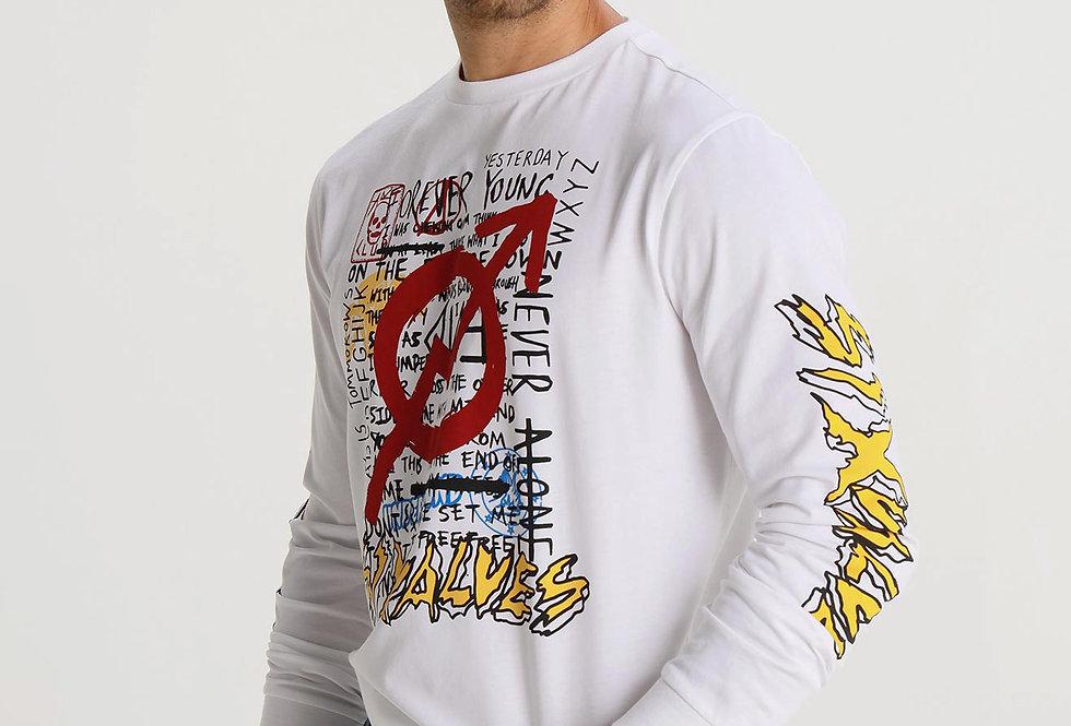 Camiseta manga larga Six Valves