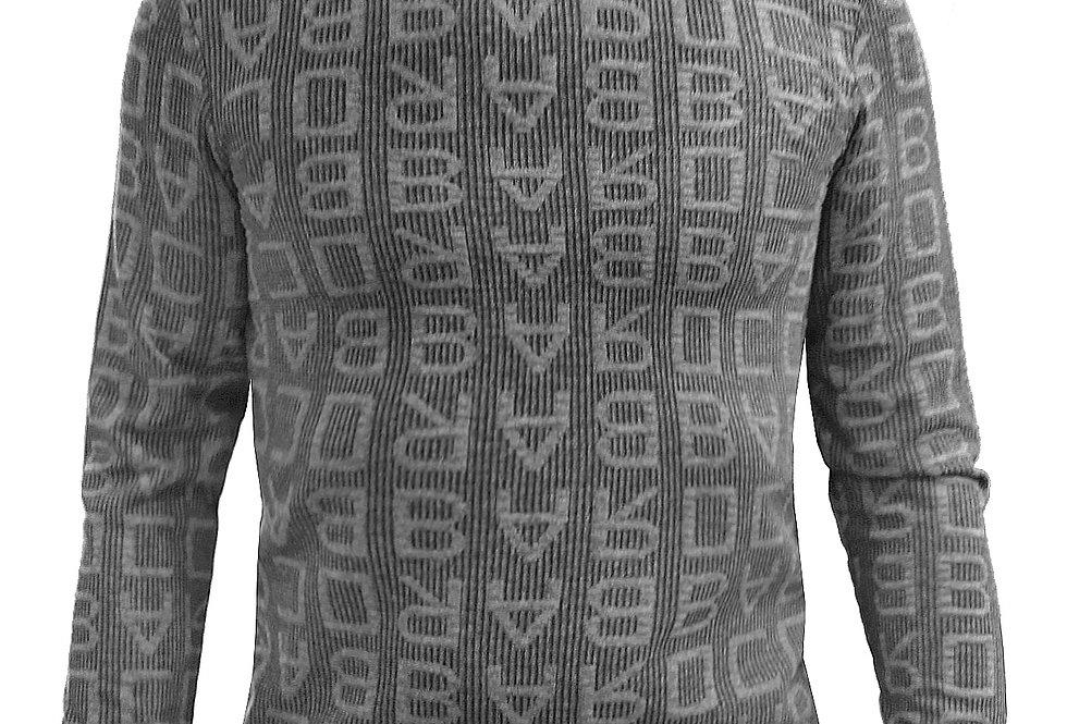 Jersey estampado de letras