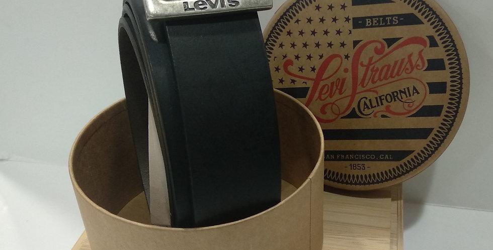 Cinturón Levi's 224441 de piel reversible hebilla pasador