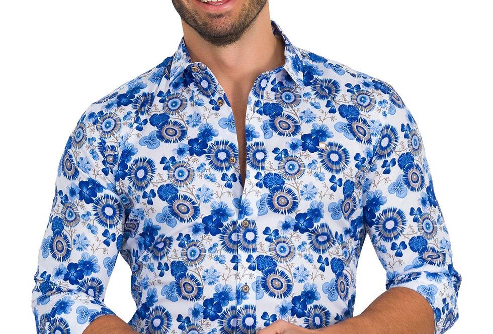Camisa estampado de flores 6504