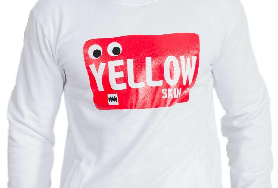 Sudadera Ojos Yellow Skin