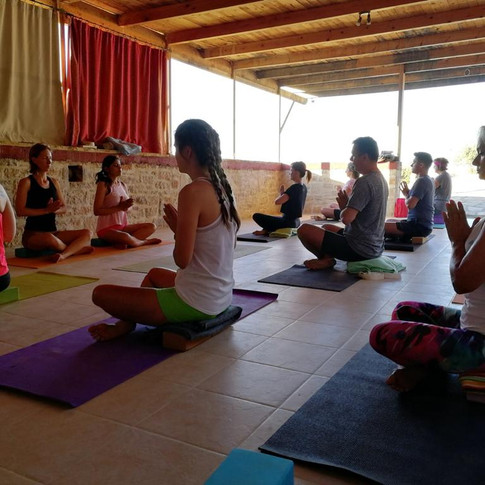 Z jógového retreatu na Krétě