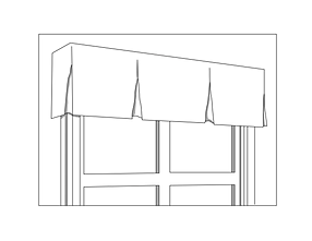 up silhouette img close valance box decor of window with savalan pleat top blinds treatments a