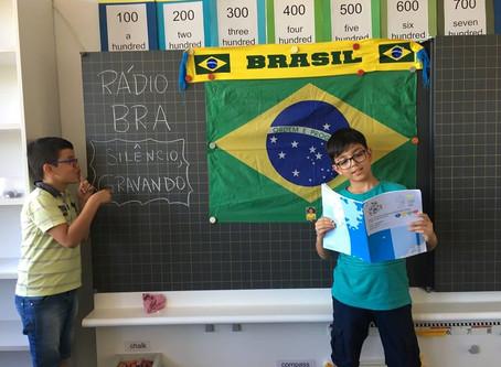 Rádio B-R-A: nosso projeto programa de rádio