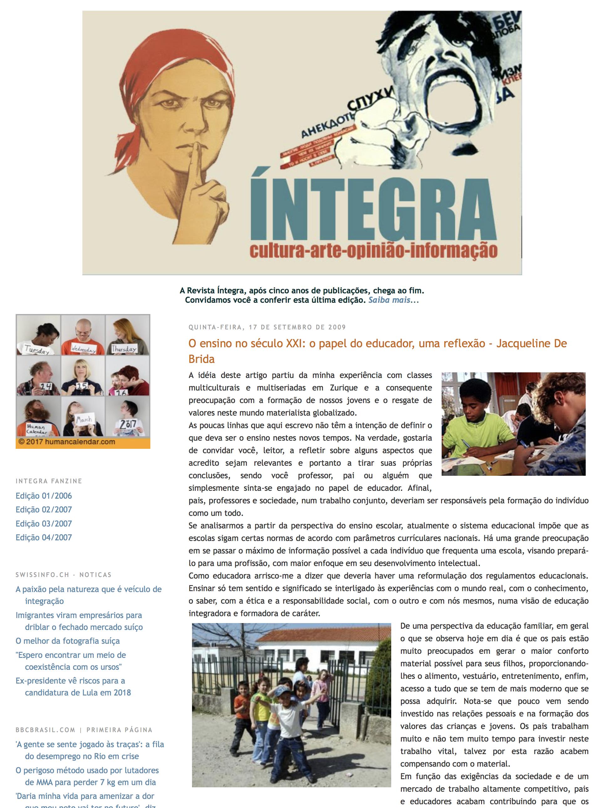 Revista íntegra - 2009