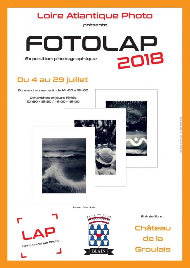 Affiche exposition FOTOLAP 2018