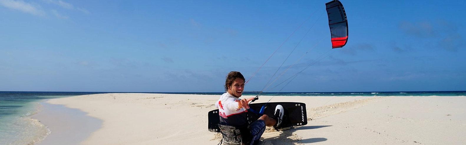 leçon de kitesurf en Martinique