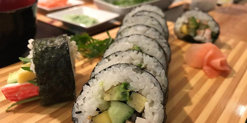 Sushi Express-Workshop am 15. Jänner 2020
