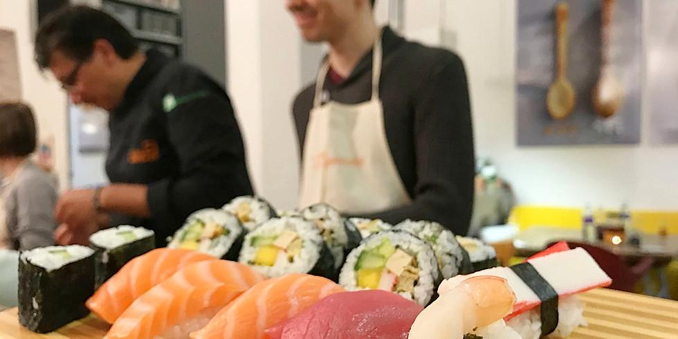 Sushi Classic-Workshop am 08. November 2019