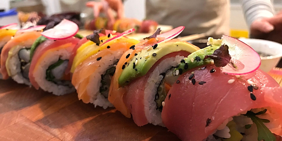 Sushi Aufbau-Workshop am 18. Oktober 2019