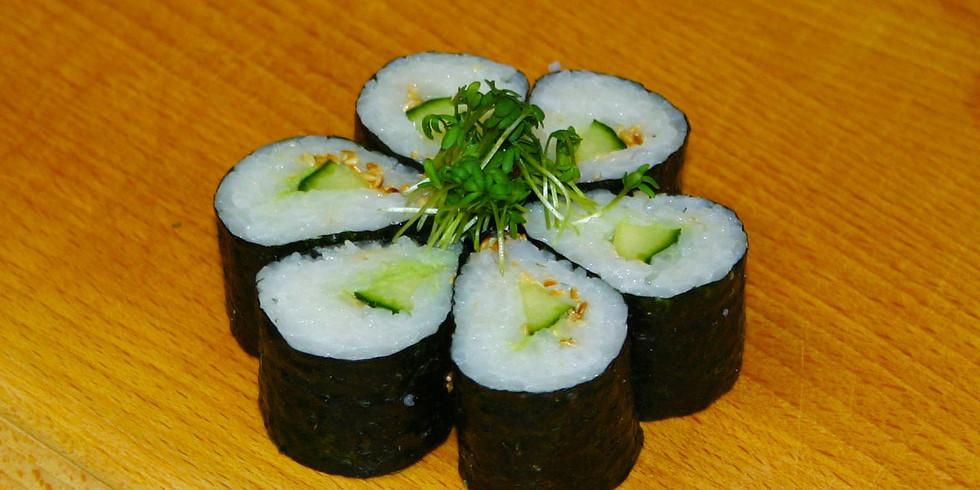 Sushi Express-Workshop am 24. Oktober