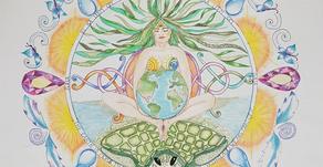 Het aarde bewustzijn van je mandala