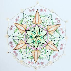 Mandala tekenen met een intentie