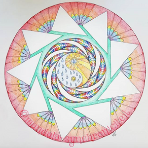 Visualiseren van je mandala (mijn 4 inspiratie-dip remedies)