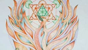 Het vurige-element van je mandala