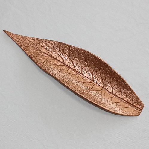 Blattschale L Kupfer