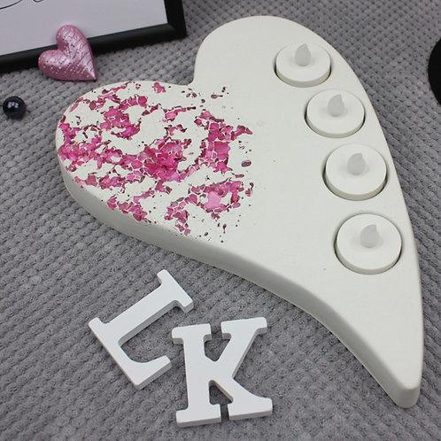 Herz Pink XL