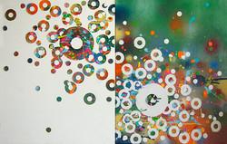 Cirlces 2009 each16x20