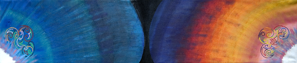 Maori Waves 2004 48x10