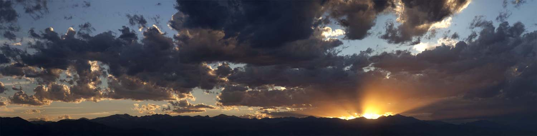 7-5-16-Boulder Range Sunset