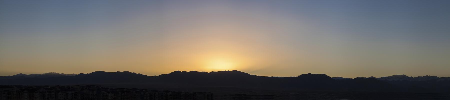 Front Range Sunset 2017