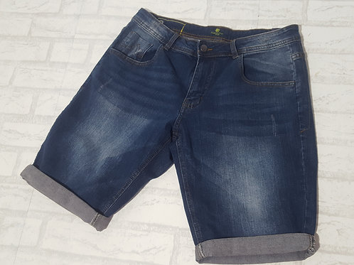 Bermuda Jeans Blue Marine