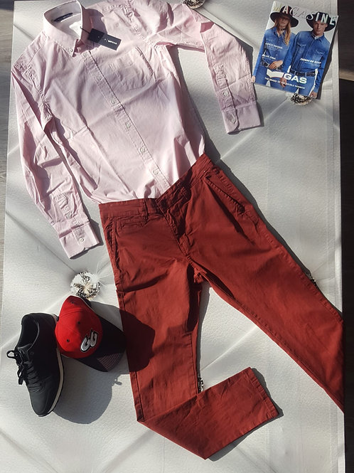 Outfit RED man