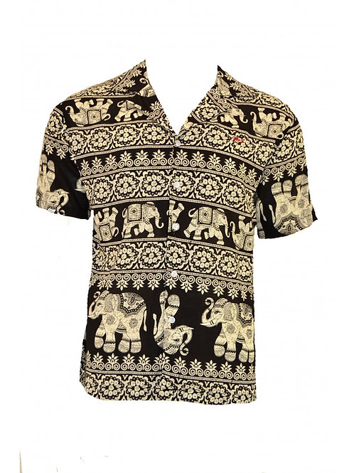 Camisa Indian Elephants
