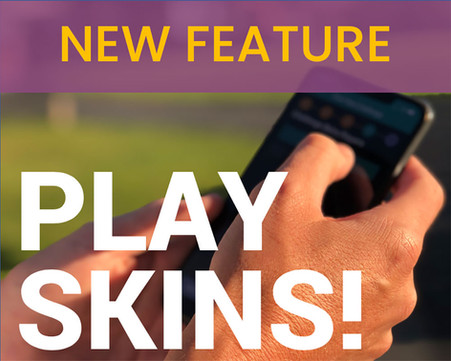 New Skins Challenge in the App!