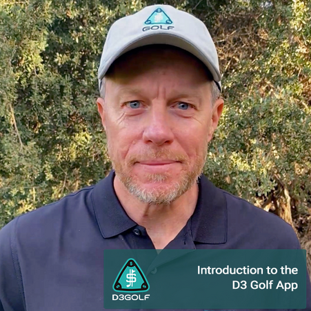 Intro to the D3 Golf App