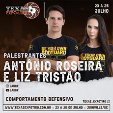 Antônio Roseria e Liz Tristão