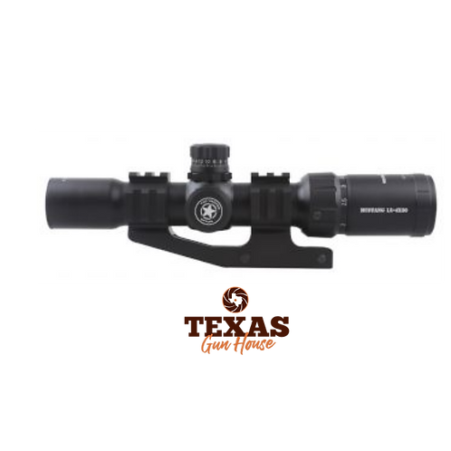 LUNETA VECTOR OPTICS MUSTANG 1.5-4 X 30, COM MOUNT