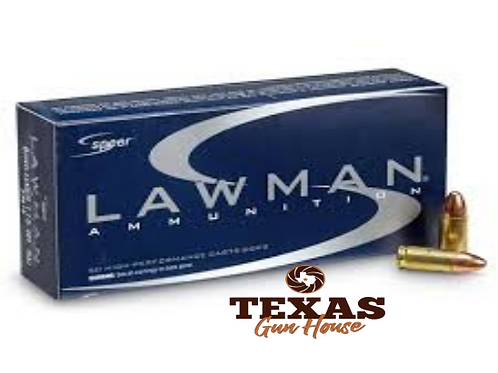 MUN LAWMAN 9MM LUGER 115 GR TMJ