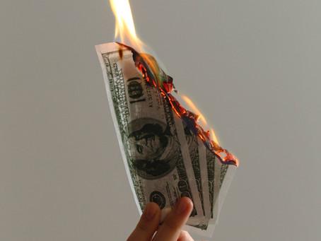 Does your company burn its profits?
